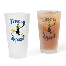 Zydeco Time Ducks Drinking Glass