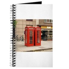 Cute Phone booth Journal