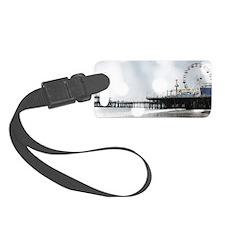 Grey Sparkling Pier Luggage Tag
