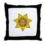 Hawaii Sheriff Throw Pillow