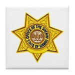 Hawaii Sheriff Tile Coaster