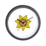 Hawaii Sheriff Wall Clock