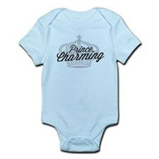 Prince Charming with Crown Infant Bodysuit