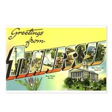 Greetings from Tennessee Postcards (Package of 8)