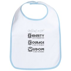 Serenity Prayer Bib
