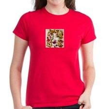 Paper Lady Red Women's T-Shirt