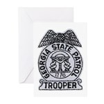 Georgia State Patrol Greeting Cards (Pk of 10)