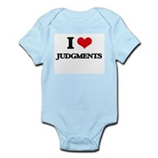 I Love Judgments Body Suit