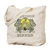 Venison its whats for dinner Tote Bag