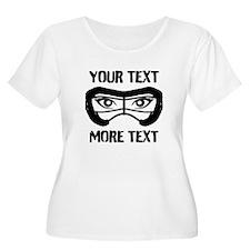 Lacrosse Beauty Pers Plus Size T-Shirt