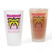 Ultimate Warrior Retro Drinking Glass