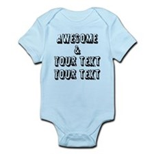 Personalized Awesome Body Suit
