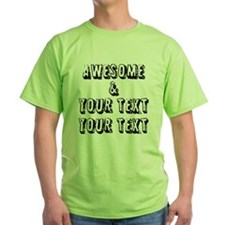 Personalized Awesome T-Shirt