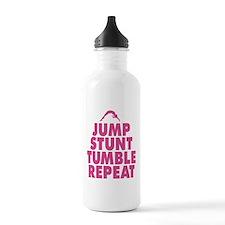 Jump Stunt Tumble Repeat Water Bottle
