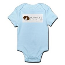 Cute Springer spaniel Infant Bodysuit