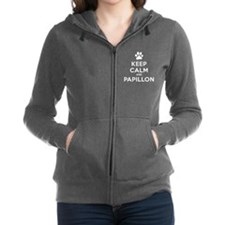 Cute Calm Women's Zip Hoodie