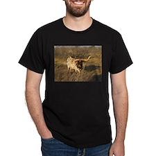 Texas Longhorn on the ranch T-Shirt