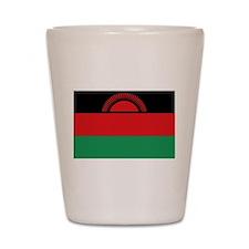 Malawi flag gift Shot Glass