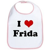 I Love Frida Bib