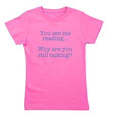 Funny Books Girl's Tee