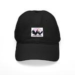 Black Dutch Chickens Black Cap