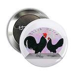 Black Dutch Chickens Button