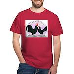Black Dutch Chickens Dark T-Shirt