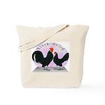 Black Dutch Chickens Tote Bag