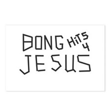 BONG HITS 4 JESUS Postcards (Package of 8)