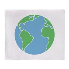 Globe Throw Blanket