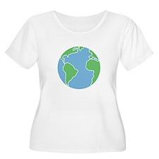 Globe Plus Size T-Shirt