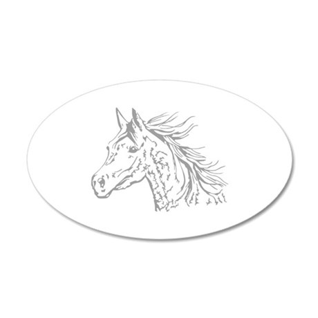 ARABIAN HORSE HEAD SMALLER Wall Decal