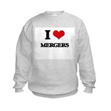 I Love Mergers Sweatshirt