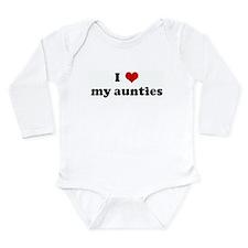 Unique My heart Long Sleeve Infant Bodysuit