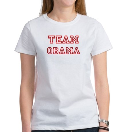 Team OBAMA (red) Women's T-Shirt