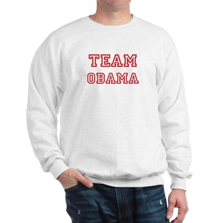 Team OBAMA (red) Sweatshirt
