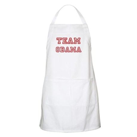 Team OBAMA (red) BBQ Apron