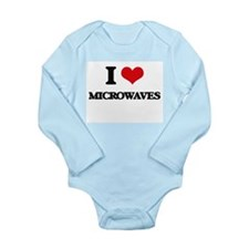 I Love Microwaves Body Suit
