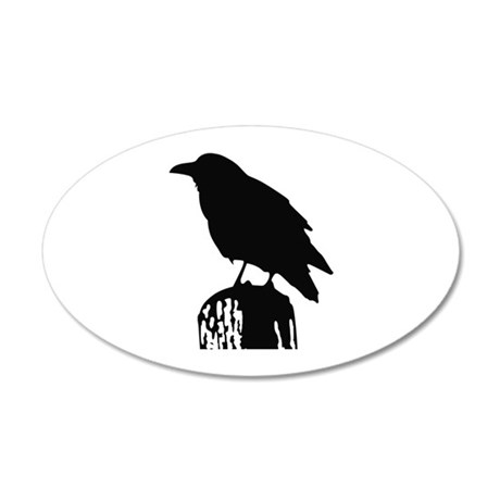 RAVEN SILHOUETTE Wall Decal
