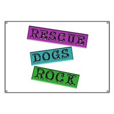 Rescue Dogs Rock Banner