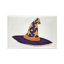 Magic Wizard Hat Rectangle Magnet