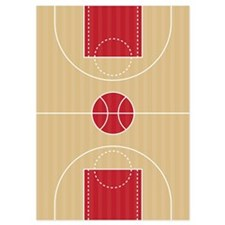 Basketball Court Invitations