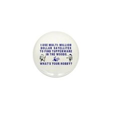 Geocache Mini Button (10 pack)