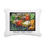 Salad Bar Exam Rectangular Canvas Pillow