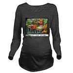 Salad Bar Exam Long Sleeve Maternity T-Shirt