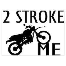 2 Stroke Me Dirt Bike Invitations