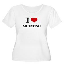 I Love Mutating Plus Size T-Shirt