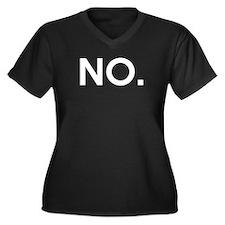 NO - Ultimate Disambiguation whi Plus Size T-Shirt