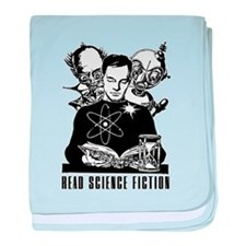 Read Science Fiction Vintage baby blanket