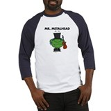 Mr. Metalhead Baseball Jersey